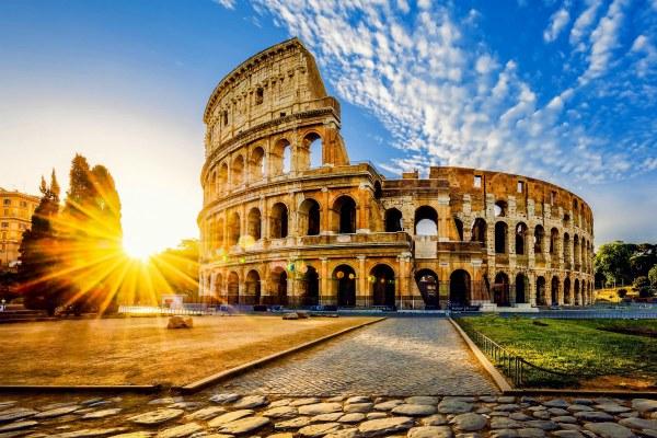 Апрель в Риме.