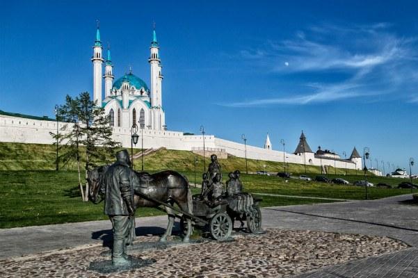 Кремль в Казани.