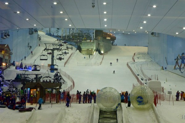 Ski Dubai.