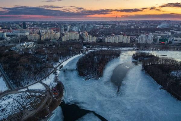 Весна 2019 в столице Беларуси.