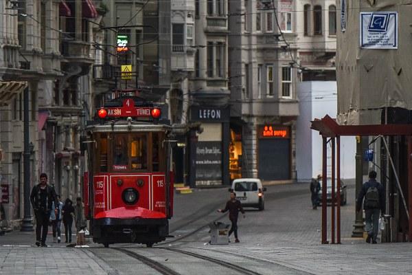 Экскурсия на трамвае.