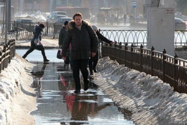 Апрельская погода в столице Татарстана.