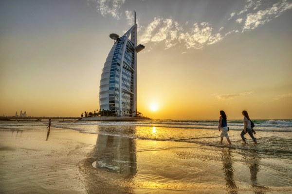Апрель в Дубае 2020.