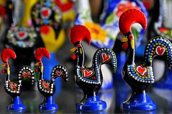 Сувениры из Португалии.