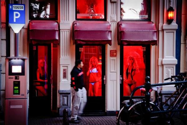 Квартал Красных фонарей.