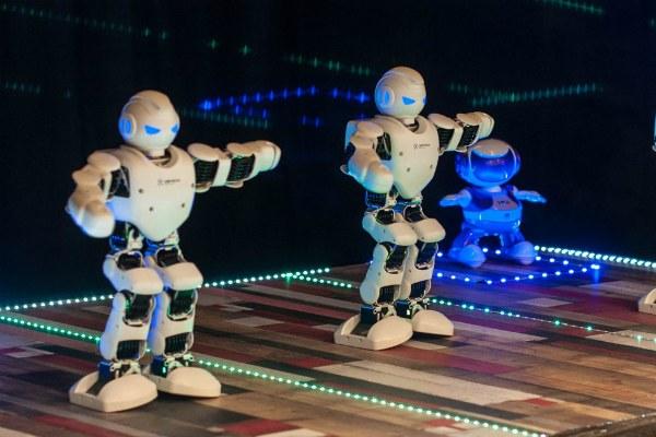 Выставка роботов.