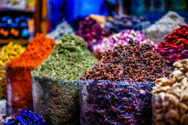 Арабский рынок.