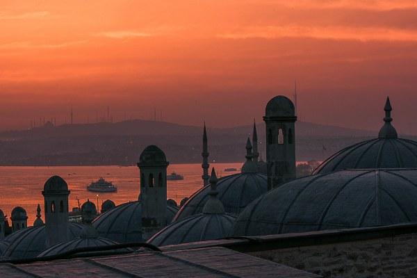 Март 2021 года в столице Турции.