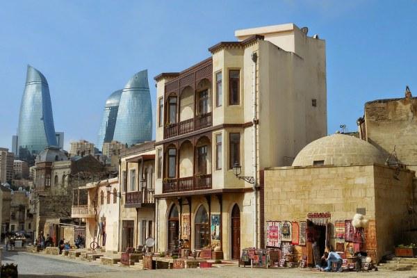 Район Баку.