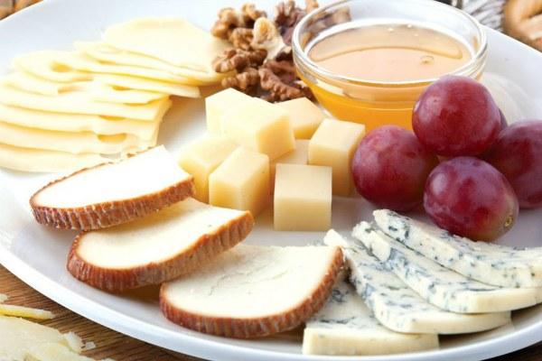 Сырная тарелка.