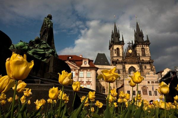 Весна 2021 в Чехии.