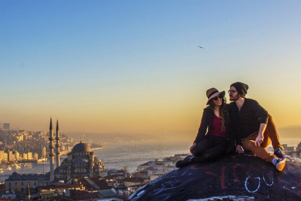 Фотосессия в Стамбуле.