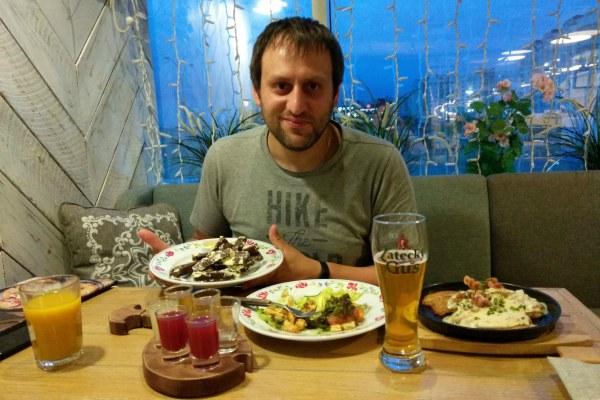 Ресторан Васильки.