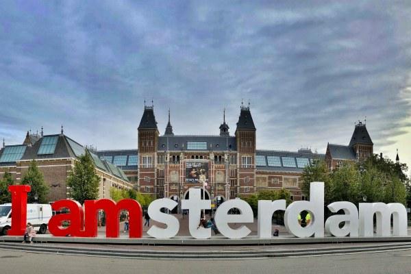 Амстердам в мае 2020.