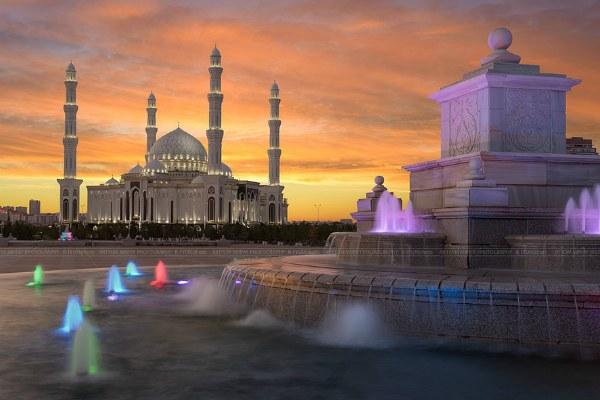 Астана весной 2020.