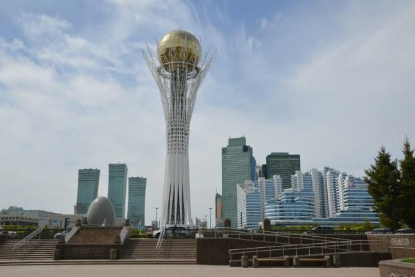Башня Астана-Байтерек.