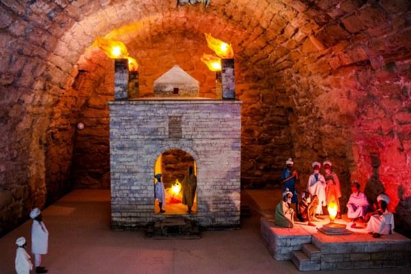 Храм огнепоклонников Атешгях.
