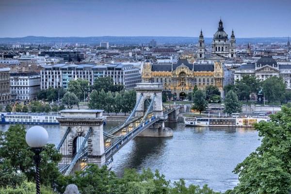 Будапешт в мае 2020.