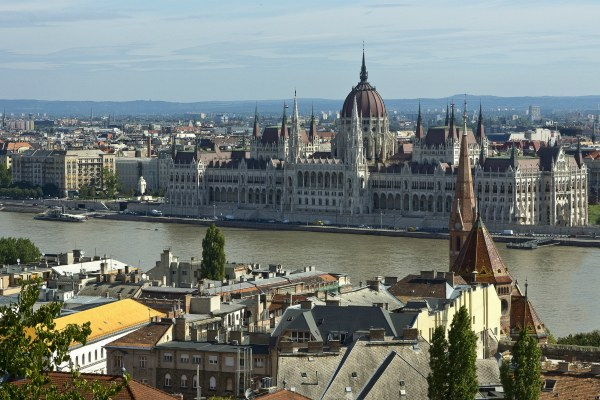Будапешт весной 2020.
