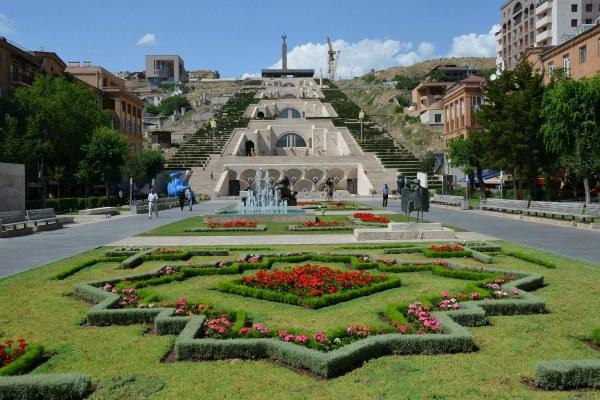 Ереван в апреле.