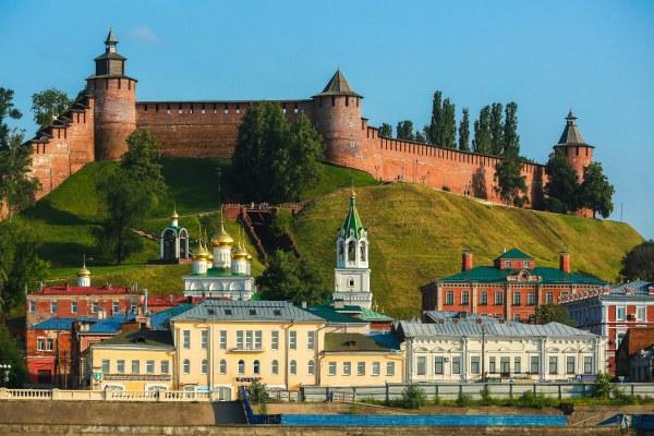Кремлёвская стена в Нижнем.