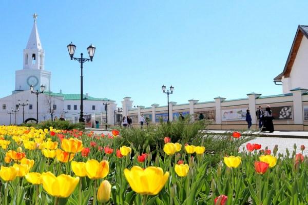 Казань в мае 2020.