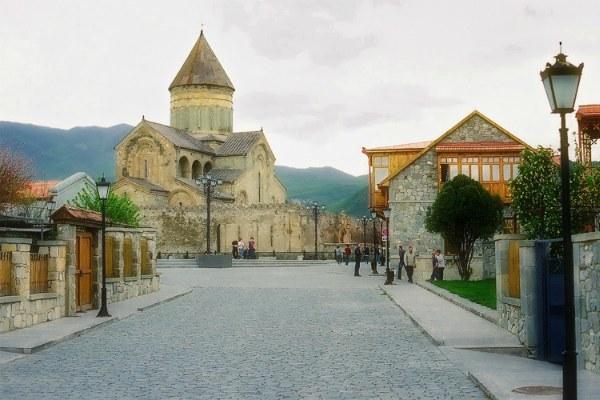Монастырь в городе Мцхета.