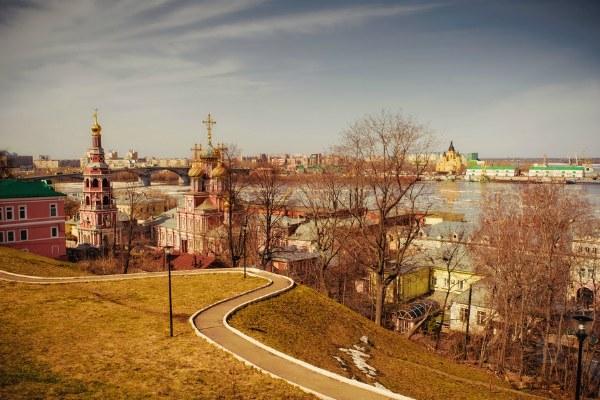 Весна 2020 в Нижнем Новгороде.