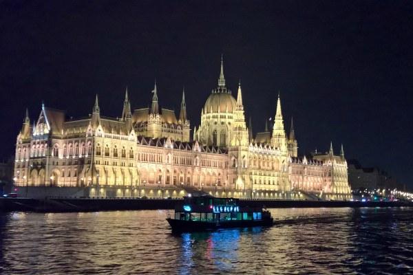 Поездка по Дунаю.