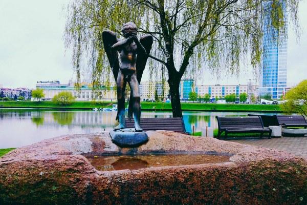 Скульптура в Минске.
