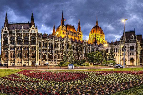 Парламент Венгрии.