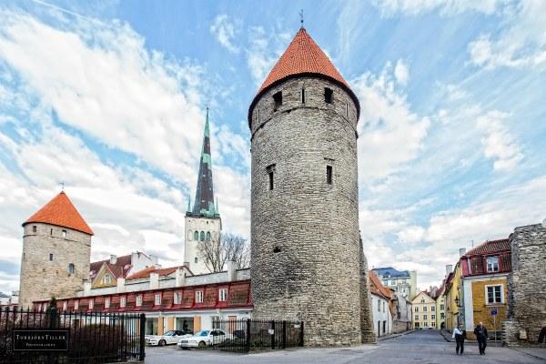 Весна 2021 в Таллине.