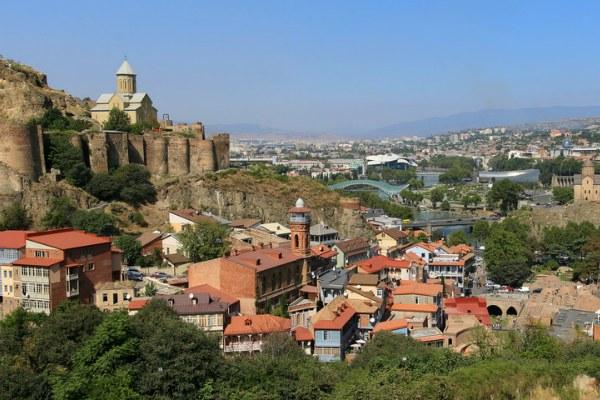 Тбилиси весной 2020.