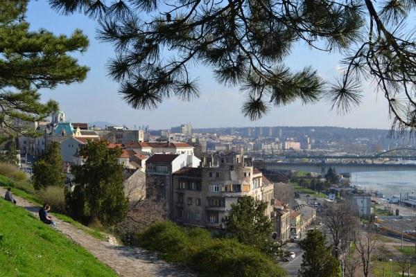 Весенний Белград 2020.