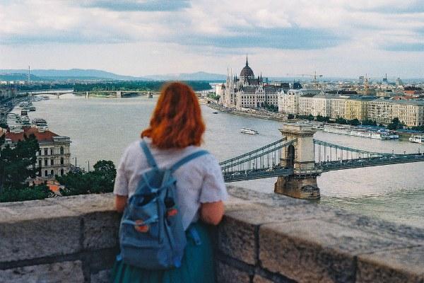 Вид на майский город.