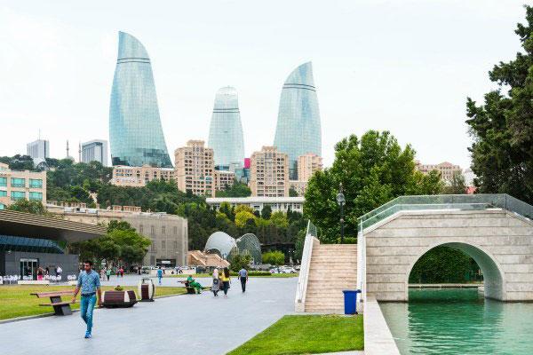 Весна 2020 в Баку.