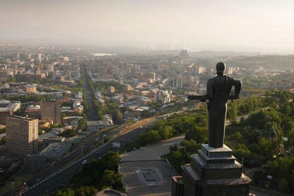 Ереван весной 2019.