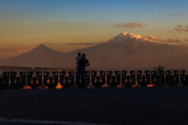 Вечер в Ереване.