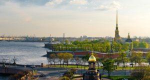 Июнь в Петербурге.