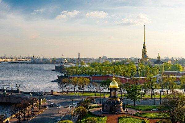 Июнь 2021 в Петербурге.