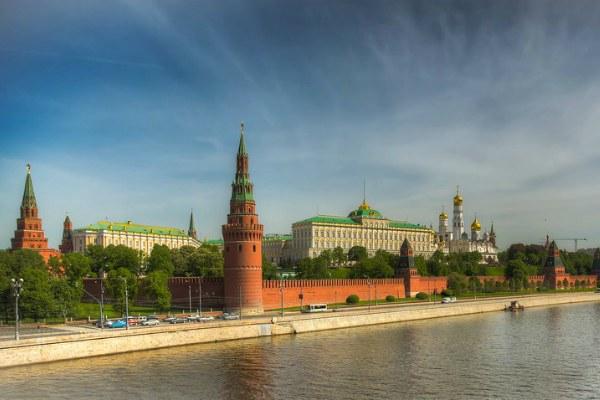 Москва весной 2020.