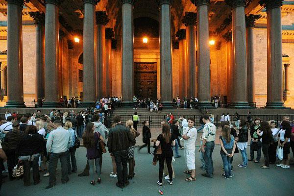 Ночь музеев в Питере.
