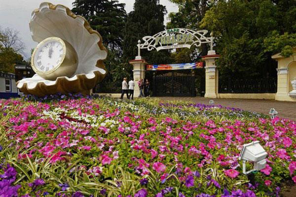 Весна в парке Ревьера.