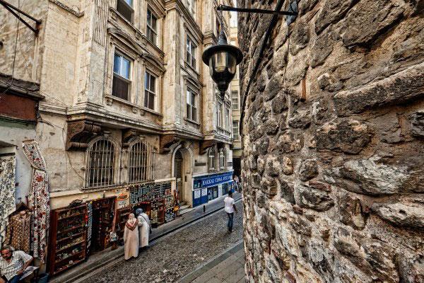 Улицы Стамбула.