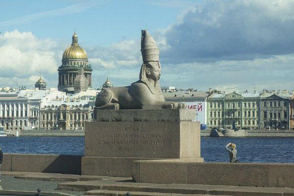 Скульптура Сфинкс.
