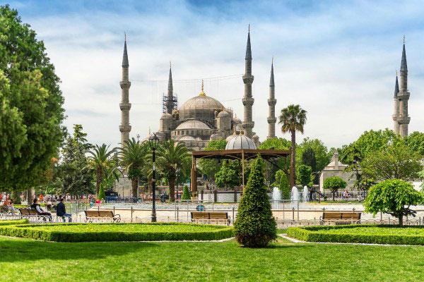 Стамбул весной 2020.