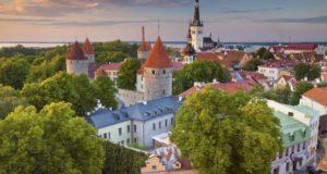 Таллин весной.