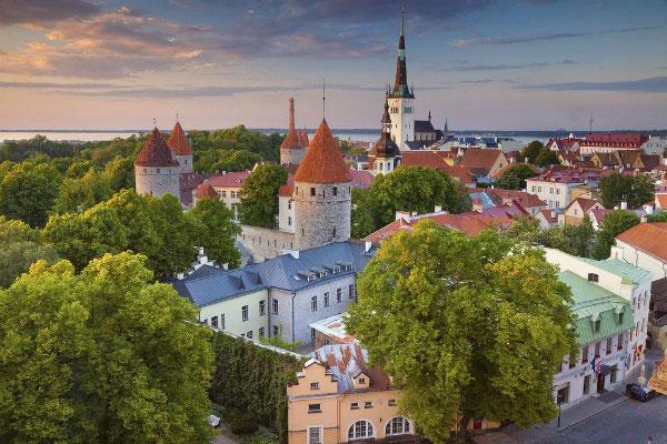 Таллин весной 2020 года.
