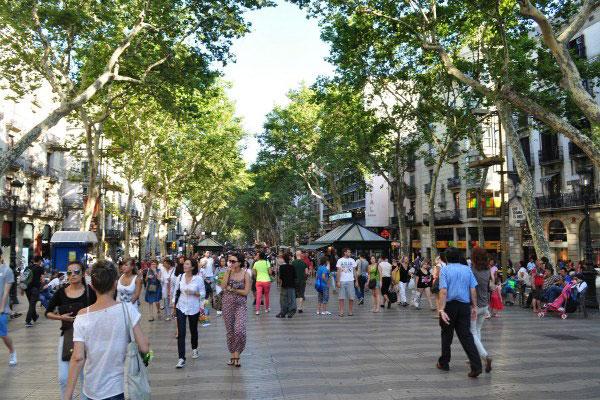 Главная улица города.