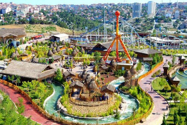 Парк развлечений.